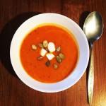 Zupa krem paprykowo-dyniowa