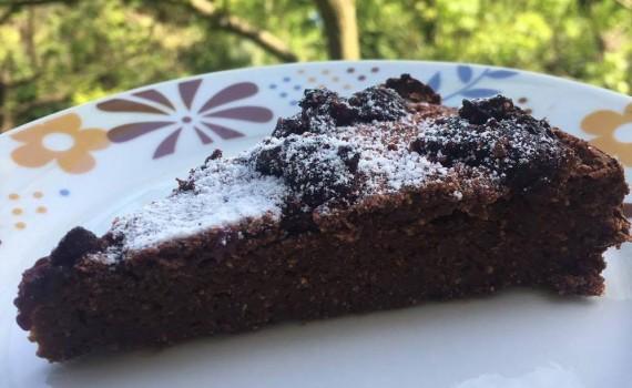 czekoladowe ciasto z buraka