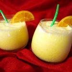 Koktajl pomarańczowo-kokosowy