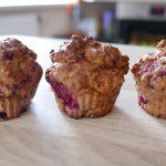 Turbo szybkie muffinki pełnoziarniste!