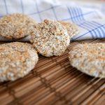 Fit ciasteczka kokosowo – owsiane