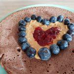 Omlet kakaowo – bananowy