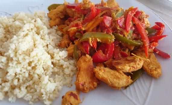 Kurczak z ryżem nietypowo