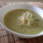 Krem brokułowo-porowy