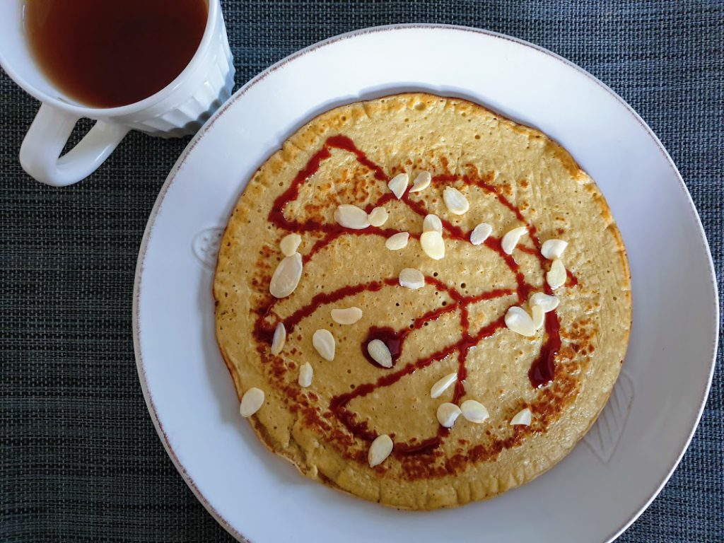 omlet twarogowy