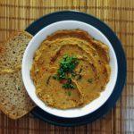Pasta z bakłażana i papryki