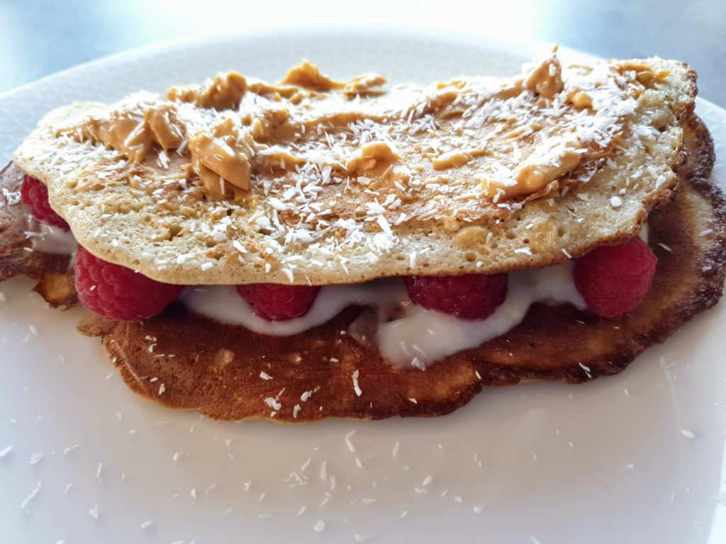 szybki i smaczny omlet na słodko