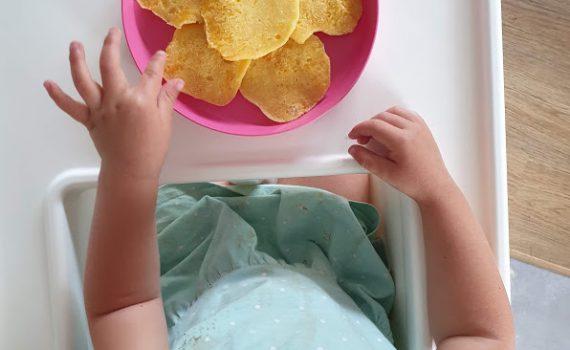 Placuszki brzoskwiniowe dla dzieci