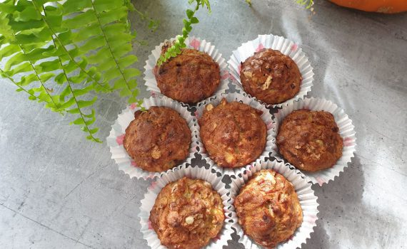 muffinki bananowe bez cukru