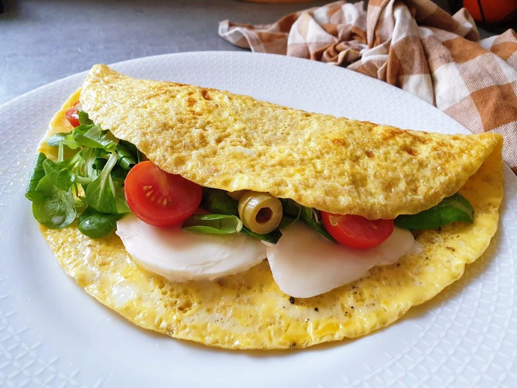 omlet a'la kanapka
