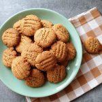 Ciasteczka chałwowo-pomarańczowe