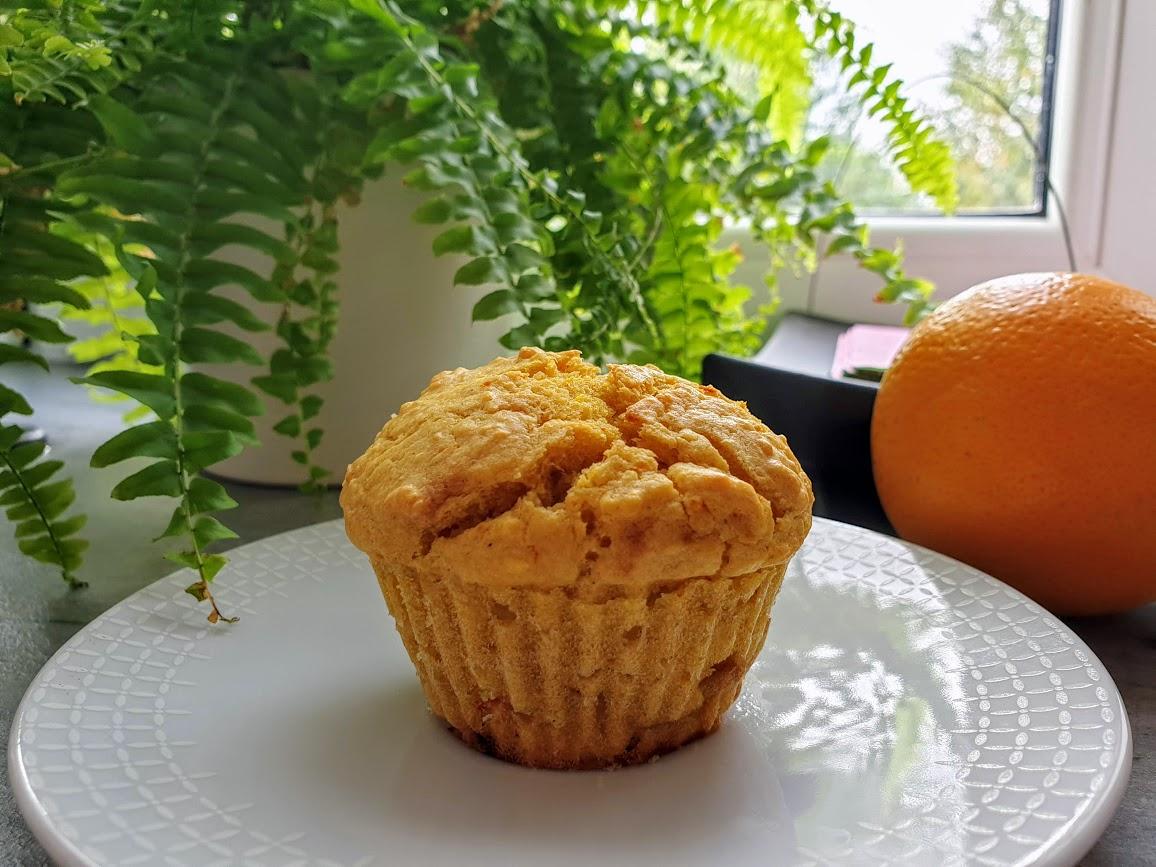 muffinki dyniowo-pomarańczowe