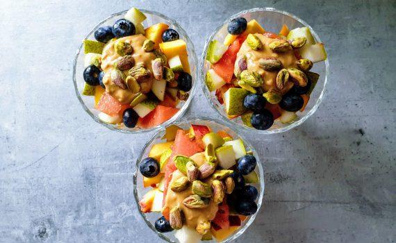 owocowy zawrót głowy - pyszny deser