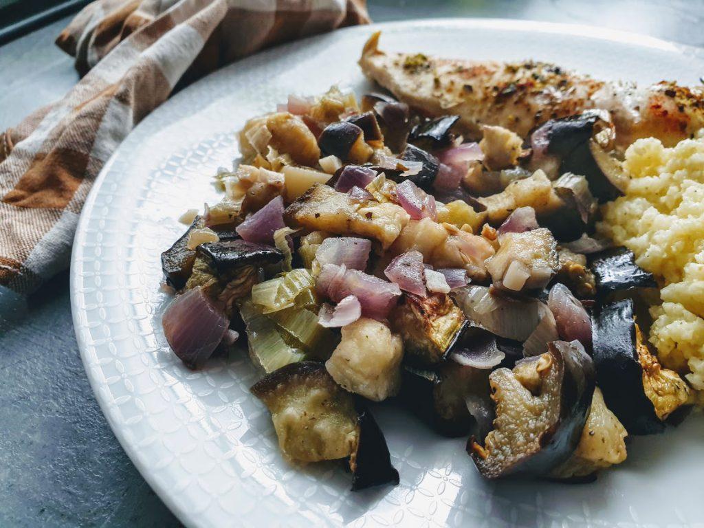 pieczone warzywa do obiadu