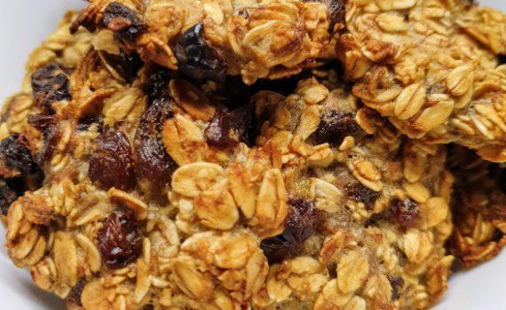 ekspresowe ciasteczka owsiane