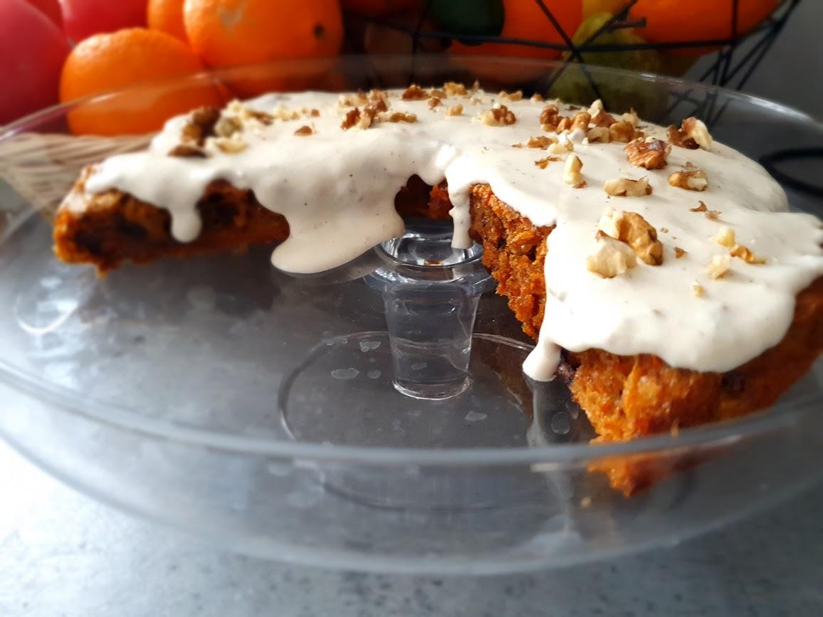 ciasto marchewkowe-bezcukrowe