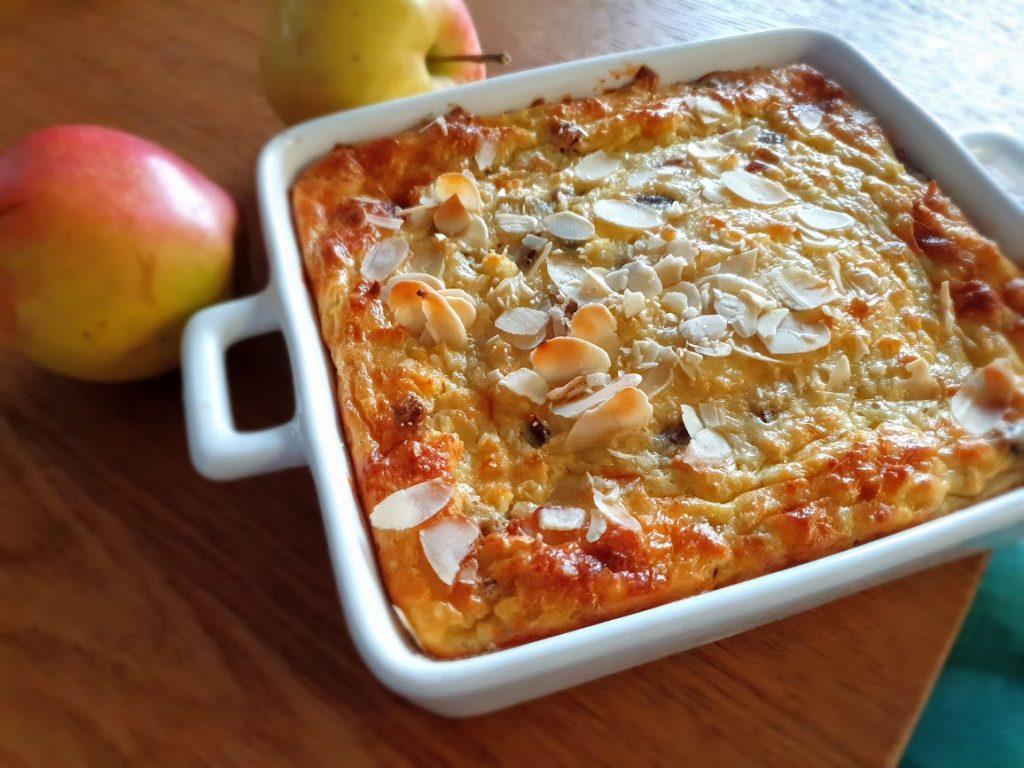 Ciasto migdałowo-jabłkowe