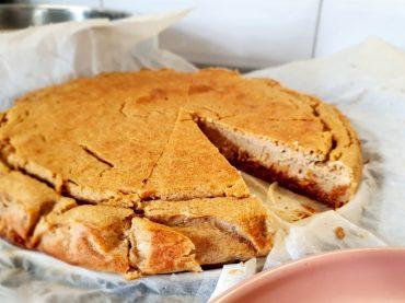 Przepyszne ciasto z ciecierzycy bez cukru i słodzików