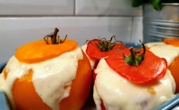 faszerowane pomidory - pyszne danie z niskim ŁG